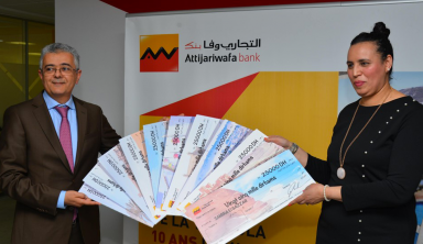 "Attijariwafa bank reveals the winner of the big raffle for Moroccans Living Abroad with the great prize of ""10 years of holidays in Morocco"""
